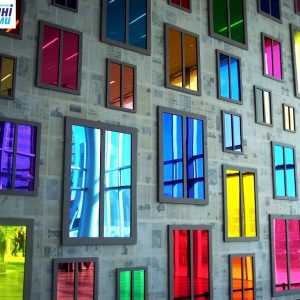 Декорування пластикових вікон кольоровою плівкою