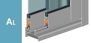 Замовити фасад з алюмінієвого профілю, балконні розсувні системи, офісні перегородки