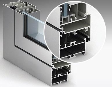 Замовити виготовлення розсувних систем з холодного алюмінію