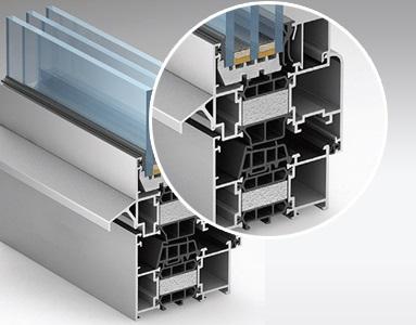 Замовити виготовлення розсувних систем з теплого алюмінію