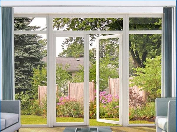 Замовити металопластикові двері на терасу або балкон