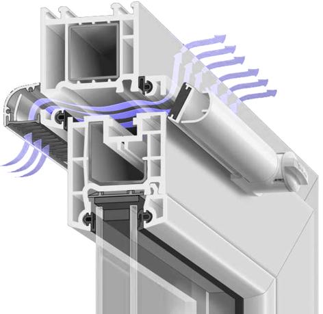 Автоматичний вентиляційний клапан