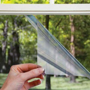 Поклейка енергозберігаючої плівки